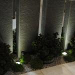 Beleuchtung von Basalt-Stelen