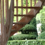 Treppe zum Baumhaus von www.baumbaron.de