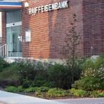 Außenanlage im Auftrag der Raiffeisenbank in Hofheim
