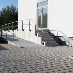 Außenanlage / Pflasterarbeiten im Auftrag des Unternehmens AMB