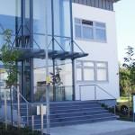 Gestaltung des Außenbereiches der Firma AMB