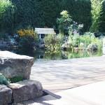 Außenanlage im Auftrag des Unternehmens AquaPet