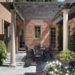 Innenhof im klassischen Stil