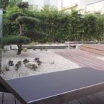 Kleiner Hofgarten - minimalistisch und gemütlich mit Jurasplitt und besonderem Formgehölz