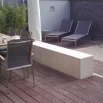 Kleiner Garten - minimalistisch und gemütlich