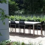 Großer Garten um ein sehr besonderes Haus, Gartennische