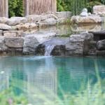 Schwimmteich aus 2002, der seither einwandfrei funktioniert