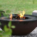 Original Feuerring der Fa. Feuerring - gesehen auf dem Fürstlichen Gartenfest in Langen