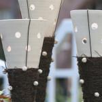 Werke von: versponnen.com / Gartenfackeln für Kerzen